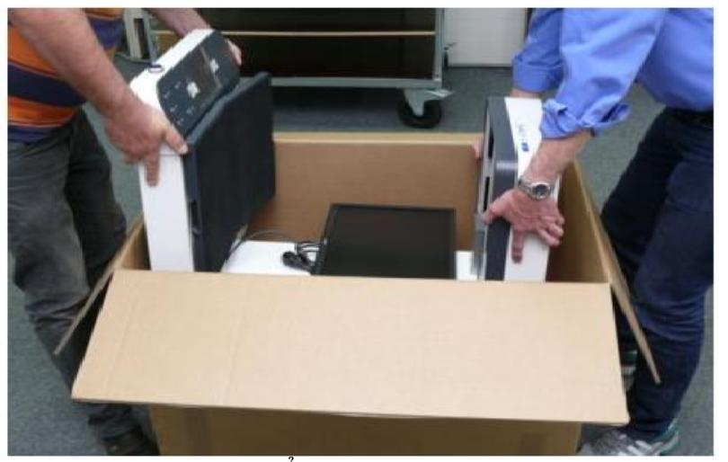 Mở thùng máy quét Bookeye® 4V3