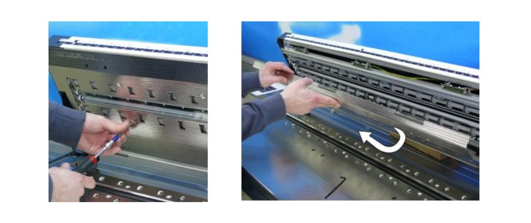 Hướng dẫn sửa chữa máy scan WideTEK (Phần 1)