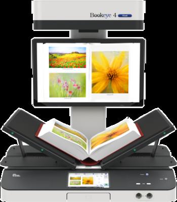 Máy scan Bookeye BE4-V2 KIOSK _ Khổ A2