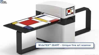 Máy quét phẳng, màu, khổ lớn hơn A0 Model WT36ART-600