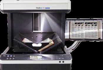 Máy scan Bookeye®4 V2 Tự động quét _ Khổ A2